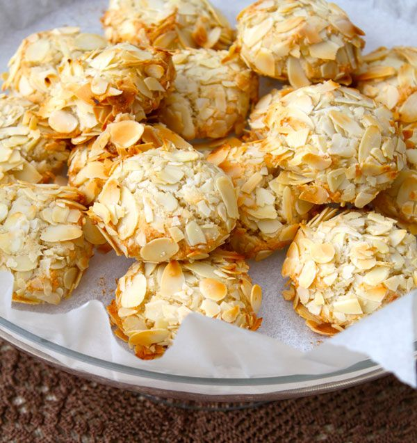 Amigthalota Greek Almond Biscuit Easter Pinterest