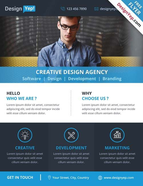 The 25+ Best Free Psd Flyer Templates Ideas On Pinterest | Psd