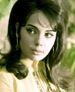 Love the flick of the eyeliner 60's Bollywood Glamour