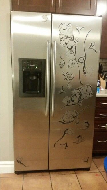 No more simple refrigerator vinyl decals from walmart 20