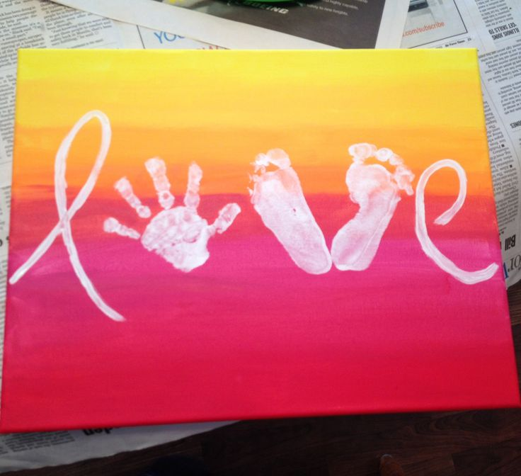 Best 25 baby hand prints ideas on pinterest baby crafts for Hand and feet painting ideas