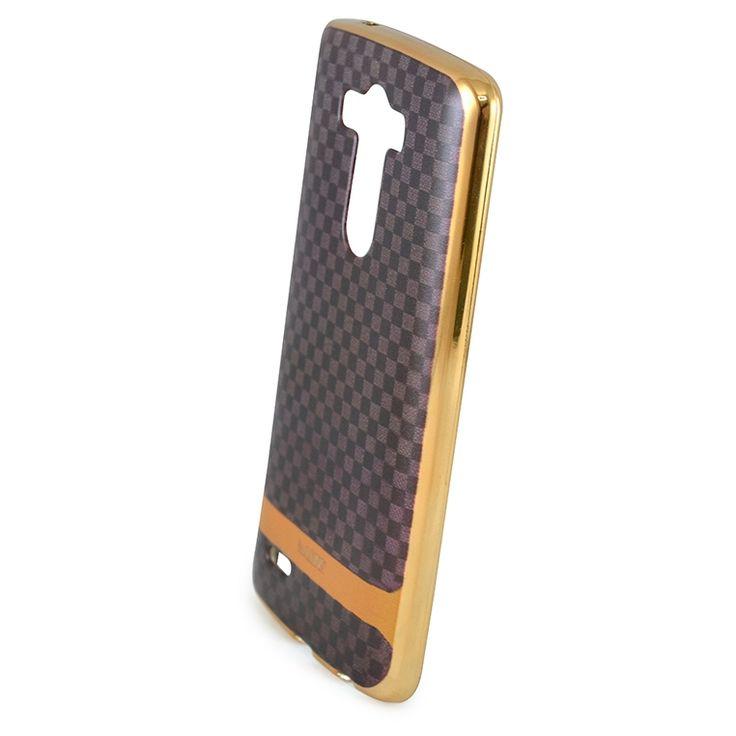 Mobilce   LG G3 ALONS DAMALI GOLD Mobilce   Cep Telefonu Kılıfı ve Aksesuarları