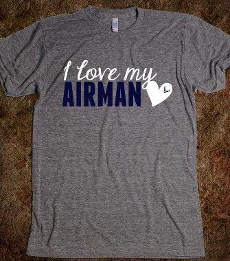 I LOVE MY AIRMAN AIR FORCE WIFE AIR FORCE GIRLFRIEND