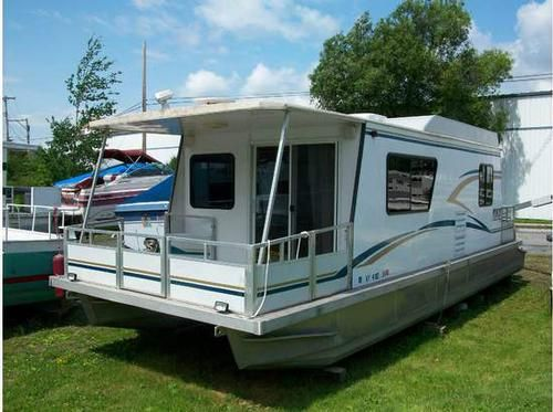 2003 Myacht Tracker Houseboat 3512 2003 Tracker Myacht