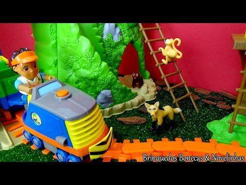 Brinquedo Go Diego Go Ferrovia - Diego primo da Dora a Aventureira em Português brinquedos - YouTube