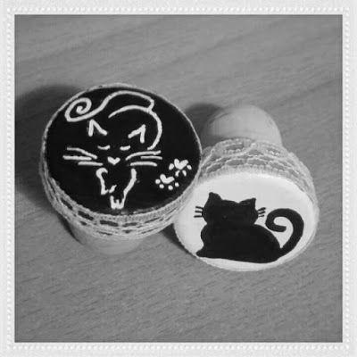 Handicrafts: Ζωγραφική σε Φελλό - Διακόσμηση φελού για Μπουκάλι...