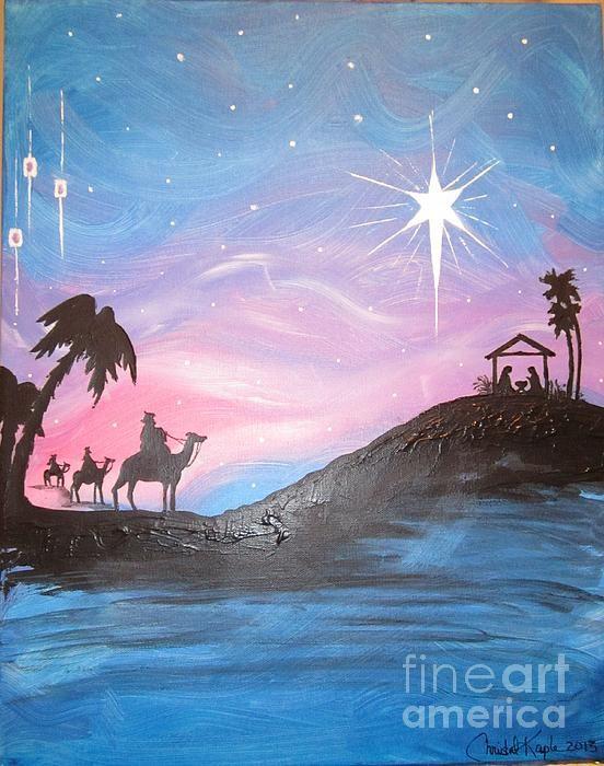 Nativity by Christal Kaple Art -