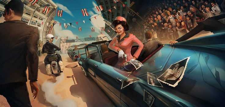 ILLUSTRATIONS BY MICHAL LISOWSKI
