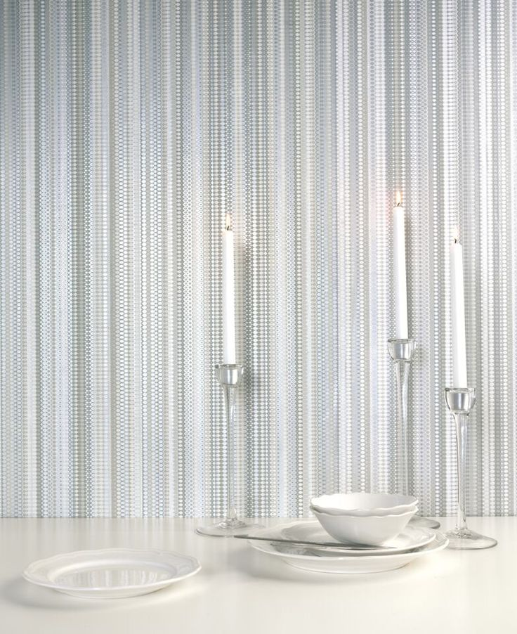From the new Albany Paradise collection this stylish stripe wallpaper design is called Java.