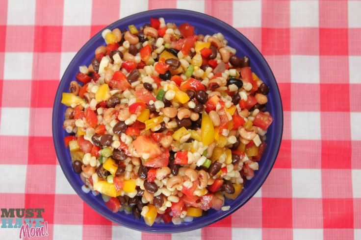 Texas Caviar Recipe + Ultimate BBQ Party Food Recipes! - Must Have Mom