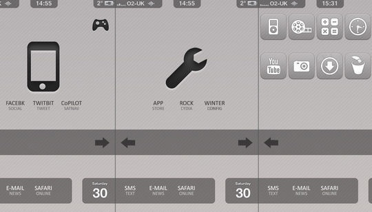 11 Useful And Free iPhone Toolbar Icon Sets | Free and Useful Online Resources for Designers and Developers