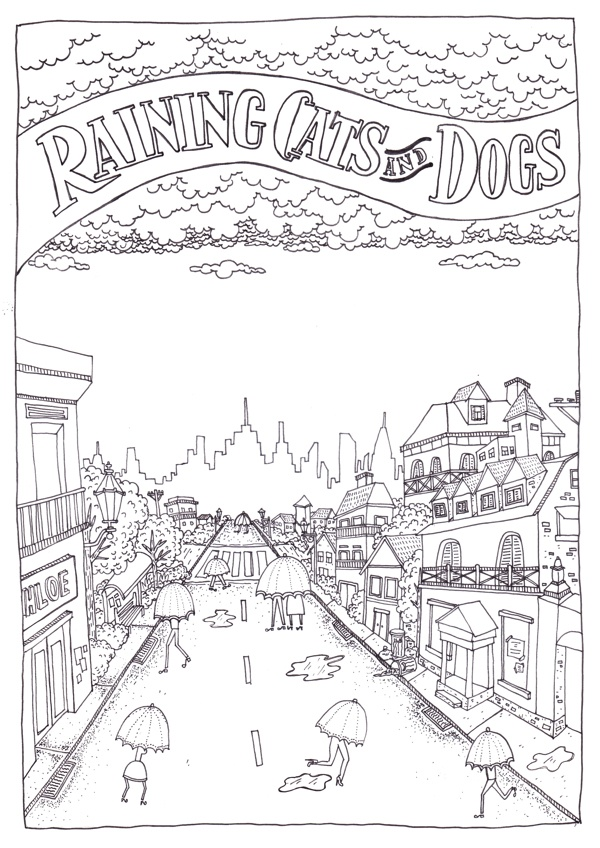 idiom coloring pages - photo#2