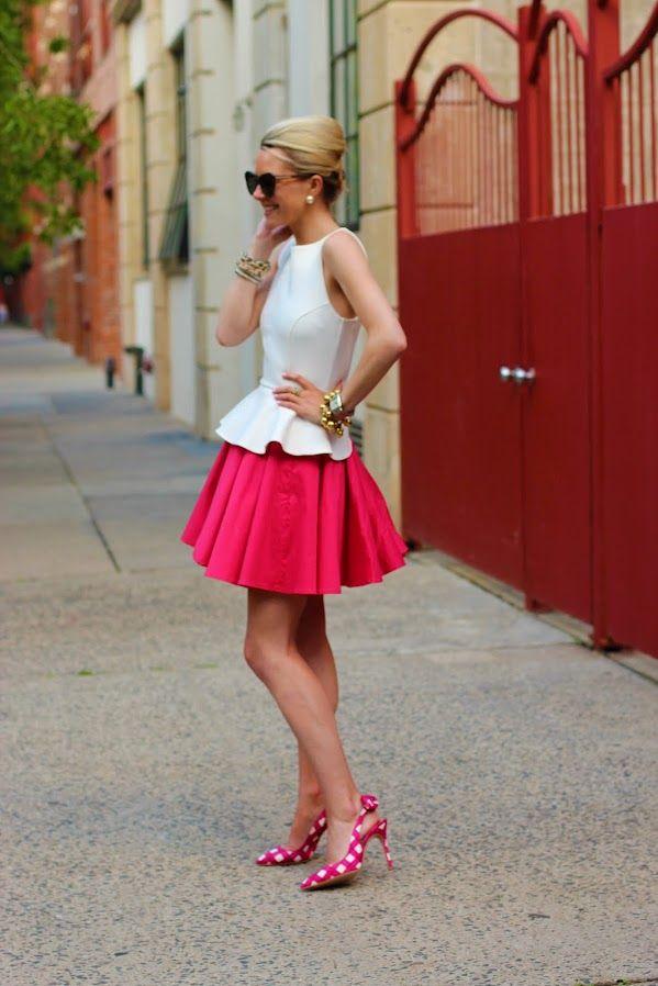 .: Fashion, Blair Eadie, Style, Skirts, Outfit, Peplum