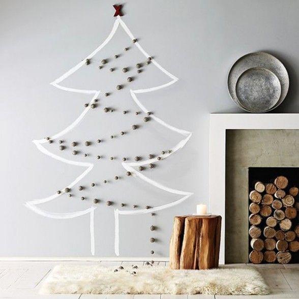 5 Original Wall Christmas Trees Christmas Decor