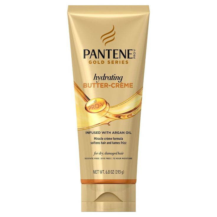 Pantene Gold Series Hydrating Butter Creme - 6.8 oz