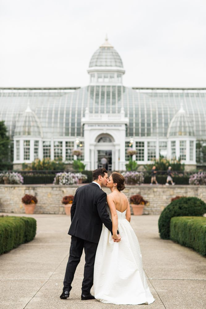 Wedding at Franklin Park Conservatory | Adam Lowe Photography-0513 - would be a good idea for anniversary photo!