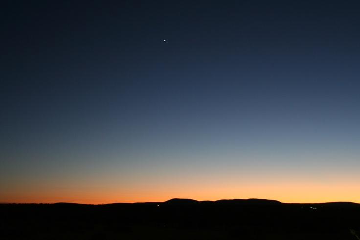 Sunset over Zebula Game Lodge