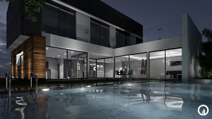 Payet House Masters Project in Infoarchitecture 3D