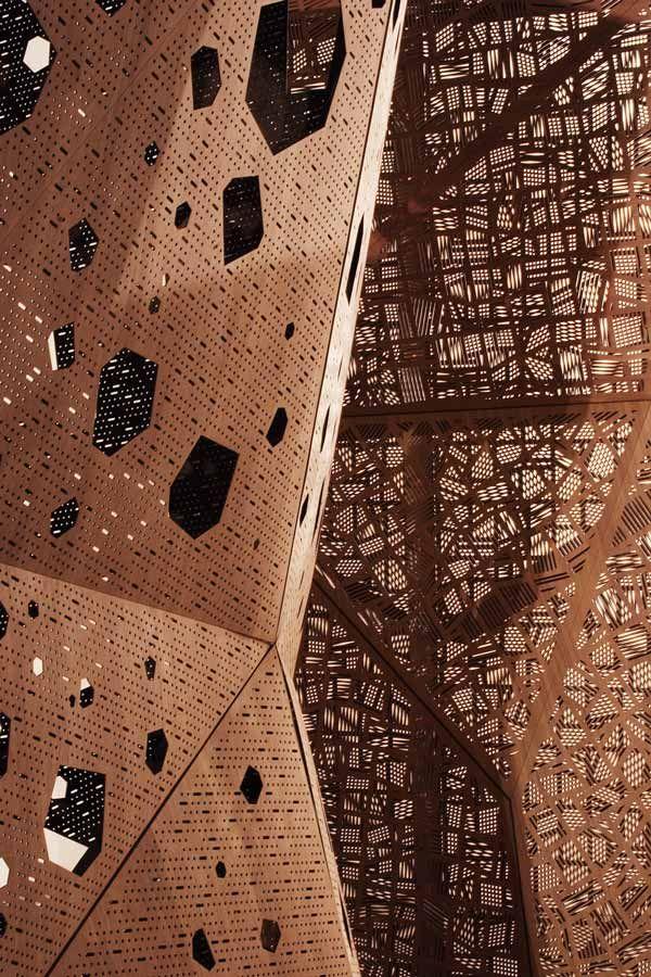 Estructura porosa de acero #steel #structures