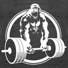 Weightlifting Fitness Crossfit Gorilla Men's Super Hero Shirts, Women's Super Hero Shirts, Leggings, Gadgets
