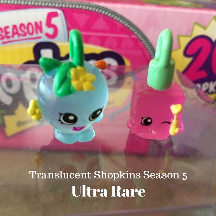 Translucent Shopkins Season 5 Ultra Rare Charms