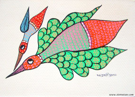 Best 25 Gond painting ideas only on Pinterest Tribal art