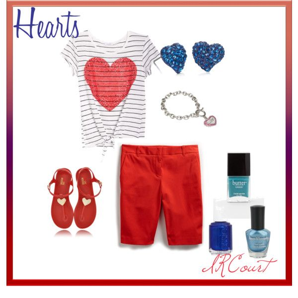 Hearts, created by ircourt on PolyvoreHeart, I M, Stylin, Polyvore, Create, Ircourt, Comforters
