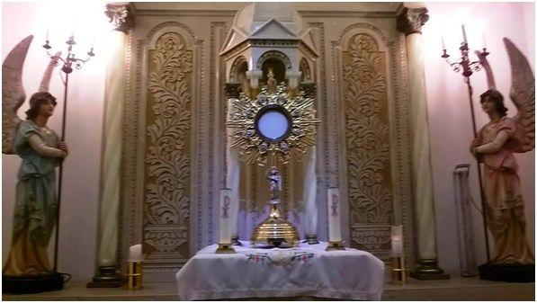 Oración al santísimo sacramento del altar para las preocupaciones