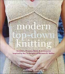 $27.50 - Modern Top-Down Knitting - Knitting Books by Kristina McGowan