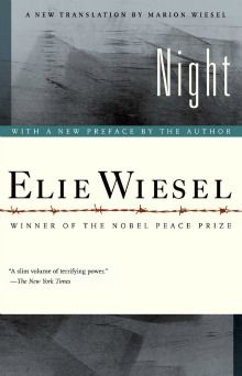 Night by Elie Wiesel - such a heartbreaking book but so important to read and remember