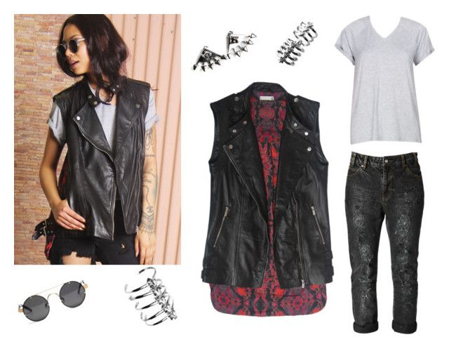 """Biker Chick"" by styligion on Polyvore"