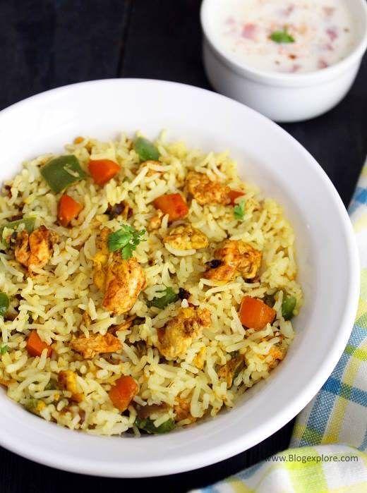 Fried Rice Recipe Indian on Pinterest   Fried rice, Veg fried rice ...