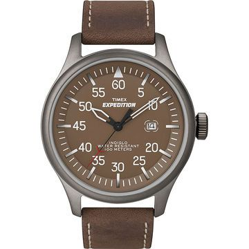 Timex Expedition Military Field Watch - Brown - T49874GP