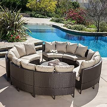 Christopher Knight Home Newton Outdoor Brown Wicker Lounge Set   Overstock™  Shopping   Big Discounts On Christopher Knight Home Sofas, Chairs U0026  Sectionals