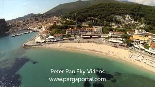 parga greece beaches - YouTube