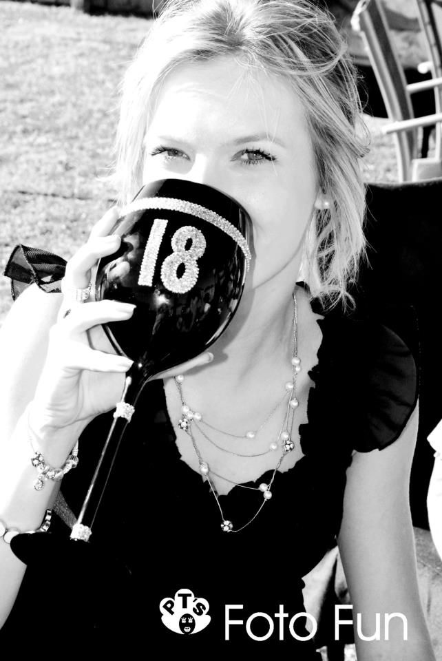 18th Birthday party, Charlotte, cool cup