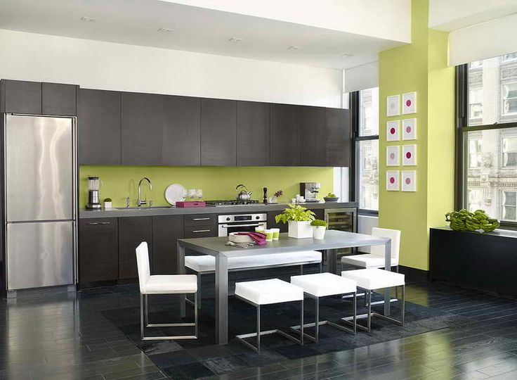 add a pop of lime green to your kitchen get the look with dunn
