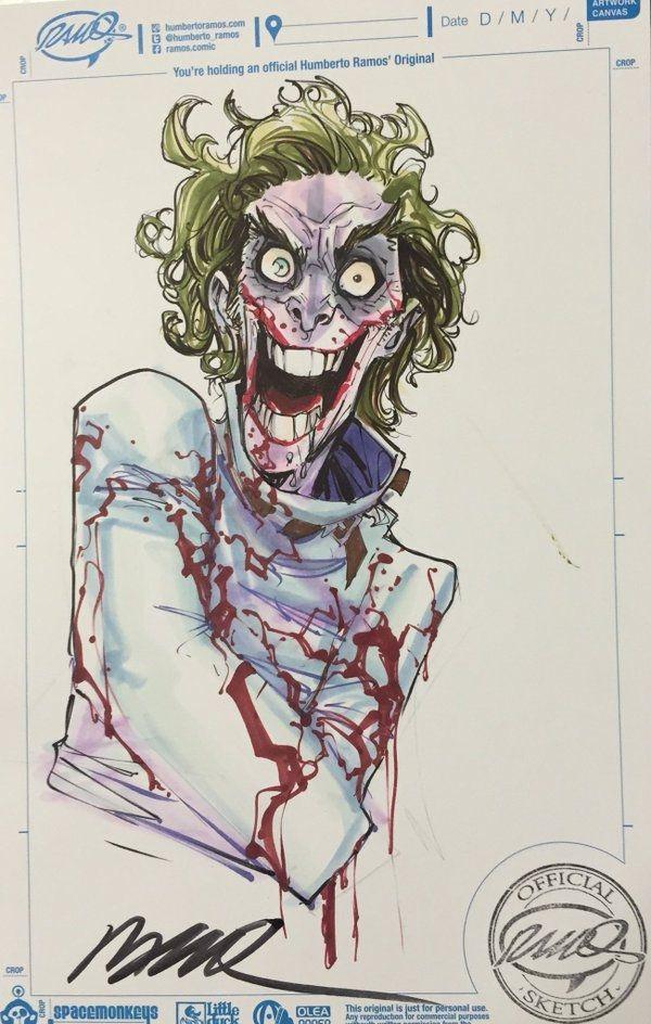 Joker by Humberto Ramos