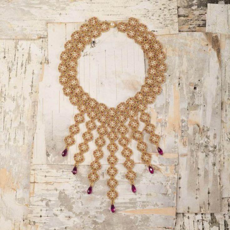 Die besten 10 Bilder zu Beaded Necklace Projects auf Pinterest ...