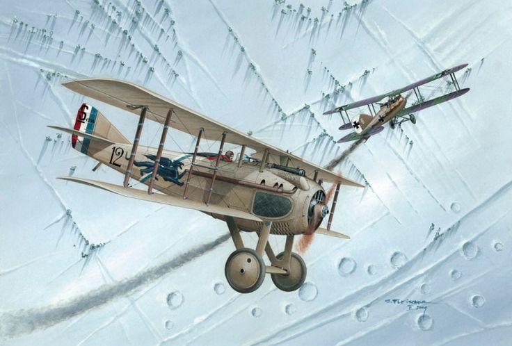 Spad VII by Seweryn Fleischer   War Wallpapers