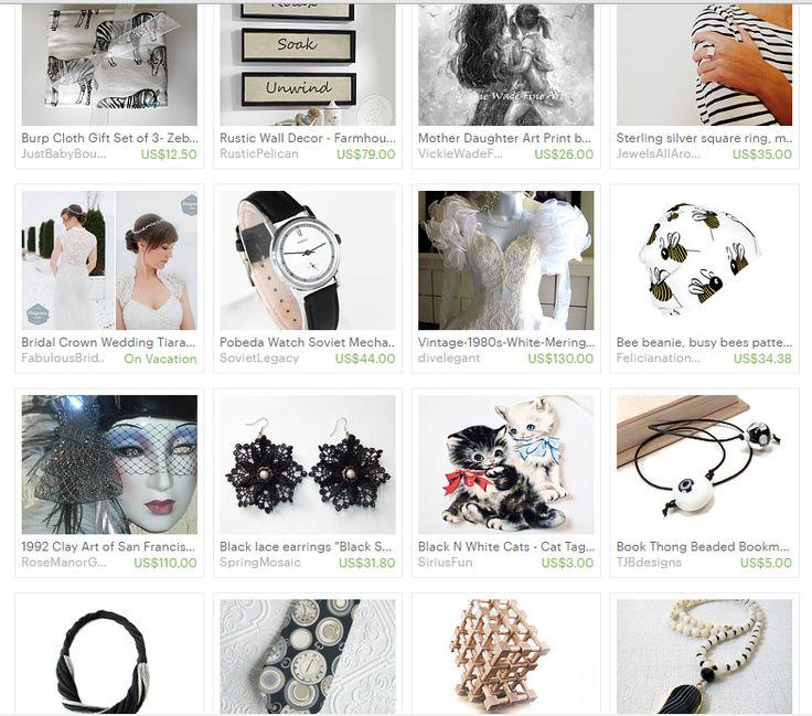 Stylish In Black And White https://www.etsy.com/treasury/MTc5NDQ4NzZ8MjcyNTcyOTkxOQ/stylish-in-black-and-white