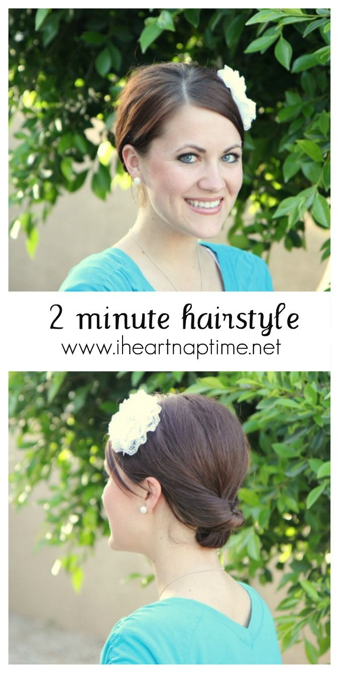2 minute hairstyle