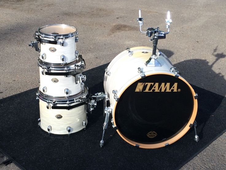 Tama Starclassic Birch 4 Piece Drum Set [White onyx] Japan Made  10121422