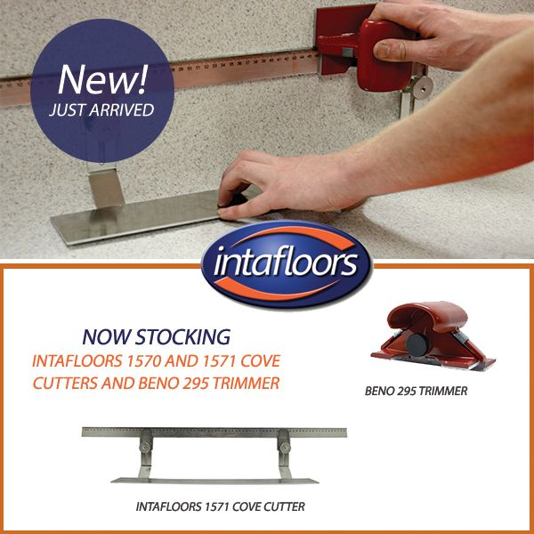 INTAFLOORS NOW STOCKING : Intafloors 1570 and 1571 Cove Cutters and Beno 295 Trimmer! www.intafloors.com.au
