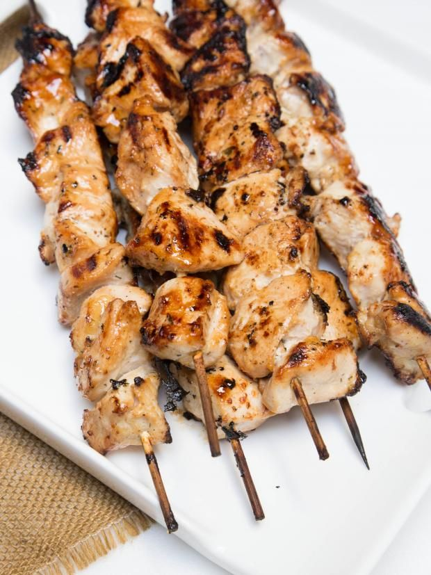 Very easy recipe for Moist Honey Chicken Skewers. They are a hit every time.