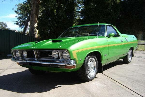 1974 Ford Falcon 500 XB GS UTE-351 Cleveland, 4 speed manual.