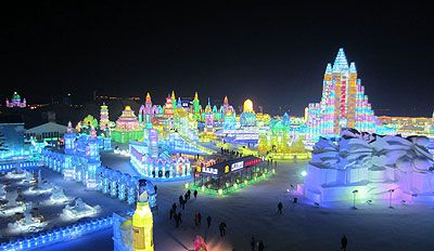 Harbin International Ice and Snow Sculpture Festival - China