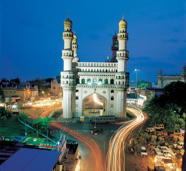 The Charminar, Hyderabad, India.