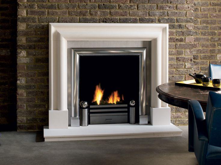 Contemporary Fireplace Surrounds Fireplace Pinterest