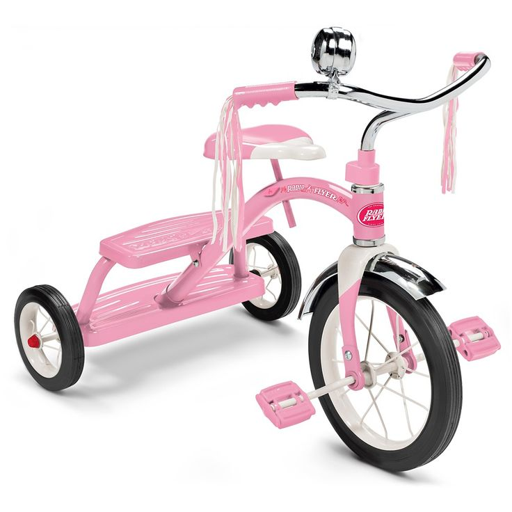 Radio Flyer Classic Dual Deck Tricycle - Pink,